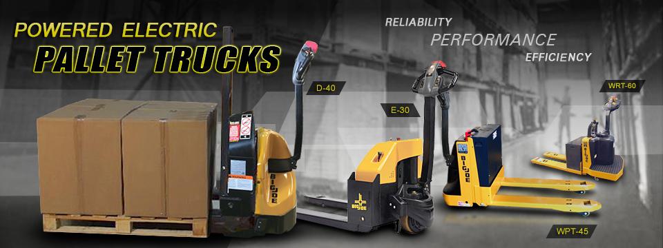 electric pallet truck big joe