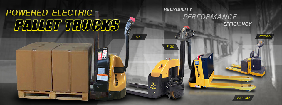 electric pallet truck big joe